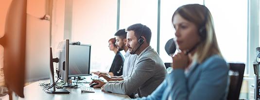 Resultaten Finders klantenservice branche